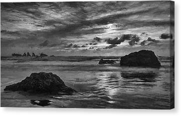 Finishing The Day Iv Canvas Print by Jon Glaser