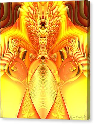 Fire Goddess Canvas Print by Gina Lee Manley