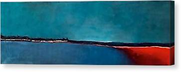 Fire Island Canvas Print by Laura Faller
