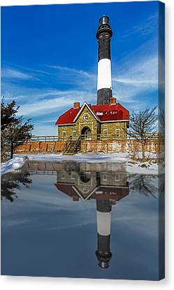 Fire Island Lighthouse Canvas Print by Susan Candelario