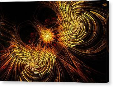 Firebird Canvas Print by John Edwards