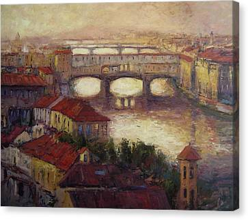 Firenze Canvas Print by R W Goetting