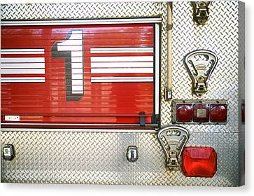 Firetruck Detail I Canvas Print by Kicka Witte - Printscapes