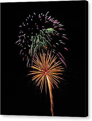 Firework 5 Canvas Print by Mark Victors