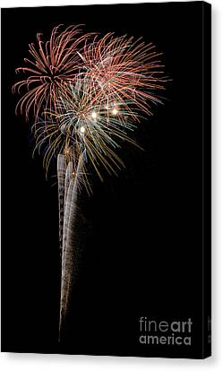 Fireworks 2013 5645 Canvas Print by Ken DePue