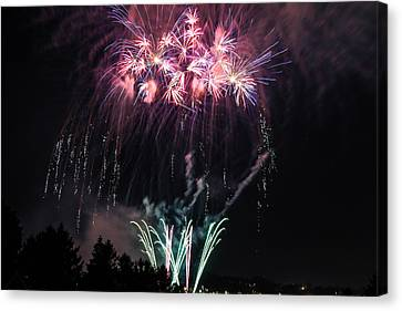 Fireworks1 Canvas Print by Taylor Gibeault