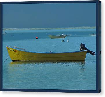 first light - Cape Cod Bay Canvas Print by Rene Crystal