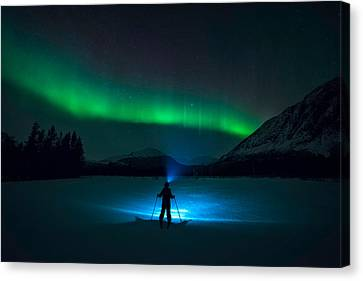 First Love Canvas Print by Tor-Ivar Naess