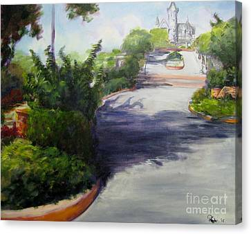First Street Eureka Canvas Print by Patricia Kanzler