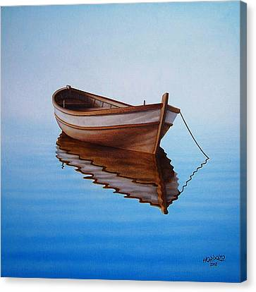 Fishing Boat I Canvas Print by Horacio Cardozo