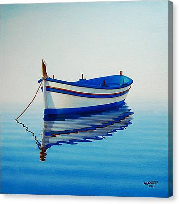 Fishing Boat II Canvas Print by Horacio Cardozo