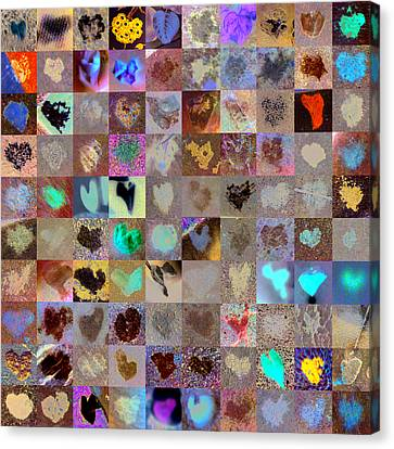 Five Hundred Series Canvas Print by Boy Sees Hearts