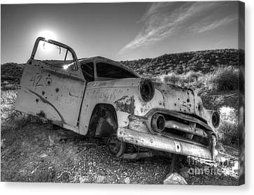 Fixer Upper Canvas Print by Bob Christopher