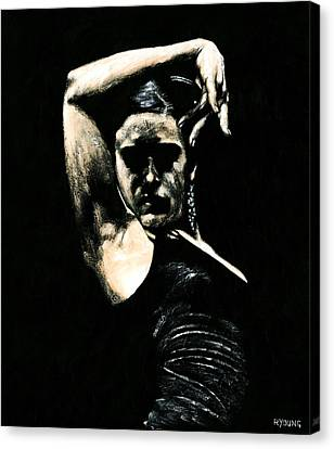 Flamenco Soul Canvas Print by Richard Young