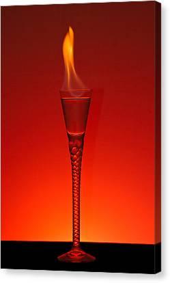 Flaming Hot Canvas Print by Gert Lavsen