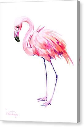 Flamingo Canvas Print by Suren Nersisyan