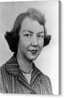 Flannery Oconnor, 1950s Canvas Print by Everett