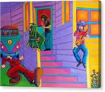 Flashback Canvas Print by Frank Strasser