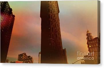 Flatiron Building New York City 2016 Canvas Print by Mark Gilman