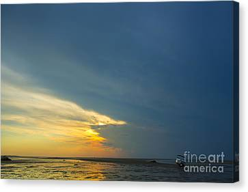 Flats Of Brewster, Cape Cod Canvas Print by Diane Diederich