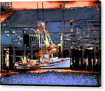 Flattery Boatset Canvas Print by Alan Thwaites