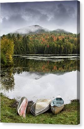 Flavor Of The Adirondacks Canvas Print by Brendan Reals