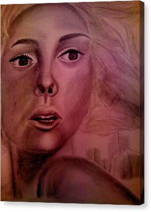 Flee Canvas Print by Terrie Bilkey