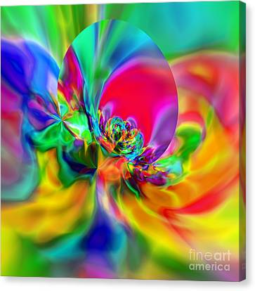 Flexibility 20ca Canvas Print by Rolf Bertram