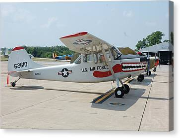 Flight Line Canvas Print by Jame Hayes