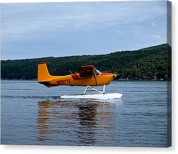 Float Plane Two Canvas Print by Joshua House