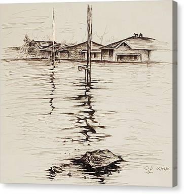 Flood St. Canvas Print by Sarah Lonthier