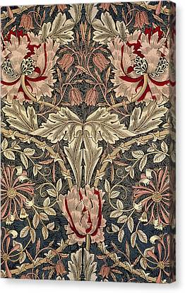 Flora And Foliage Design Canvas Print by William Morris