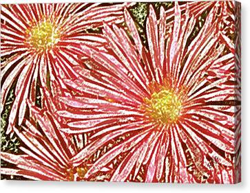Floral Design No 1 Canvas Print by Ben and Raisa Gertsberg
