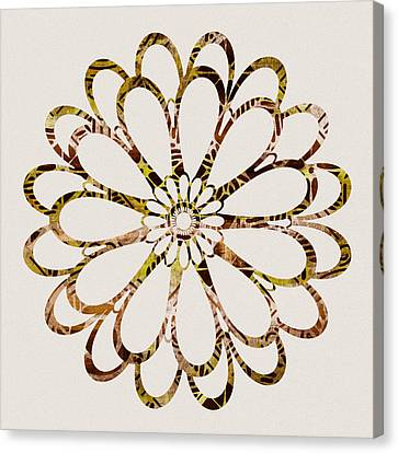 Floral Design Ornament Canvas Print by Frank Tschakert