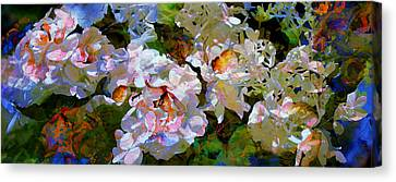 Floral Fiction 2 Canvas Print by Hanne Lore Koehler
