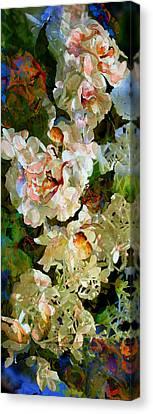 Floral Fiction Canvas Print by Hanne Lore Koehler