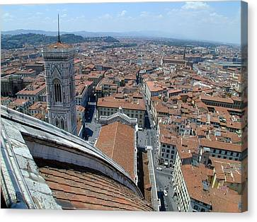 Florence Duomo Canvas Print by Joseph R Luciano