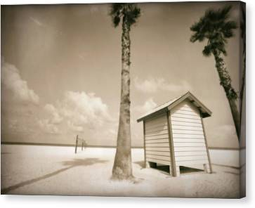 Florida Beach Canvas Print by Skip Nall