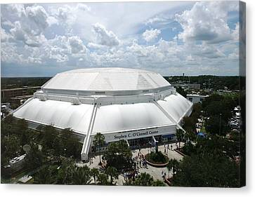 Florida Gators Stephen C. O'connell Center Canvas Print by Replay Photos