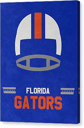 Florida Gators Vintage Football Art Canvas Print by Joe Hamilton