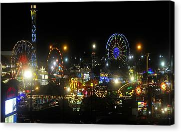 Florida State Fair 2010 Canvas Print by David Lee Thompson