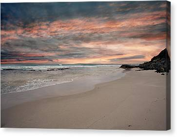 Flour Cask Bay Kangaroo Island Canvas Print by Anne Christie