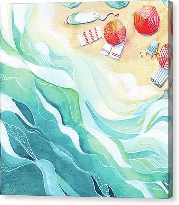 Flow Canvas Print by Stephie Jones