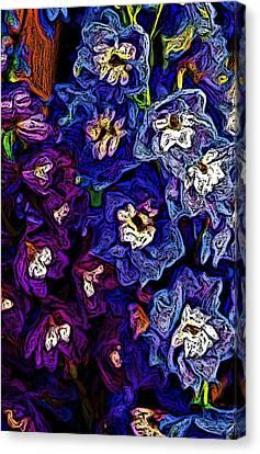 Flower Arrangement II Canvas Print by David Lane