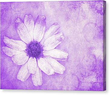 Flower Art II Canvas Print by Angela Doelling AD DESIGN Photo and PhotoArt
