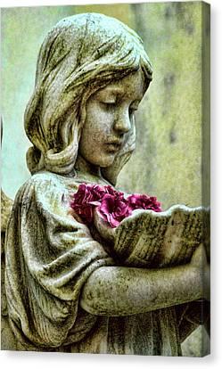 Flower Child Canvas Print by Joetta West