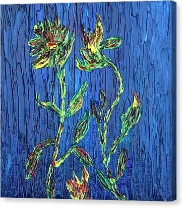Flower Dance Canvas Print by Vadim Levin