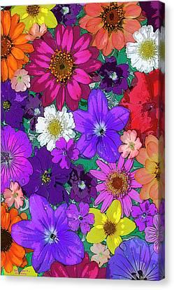 Flower Pond Vertical Canvas Print by JQ Licensing