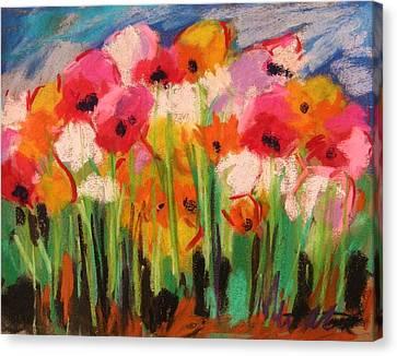 Flowers Canvas Print by John Williams