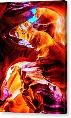 Flowing Canvas Print by Az Jackson